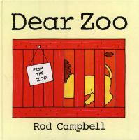 Cover image for Dear zoo