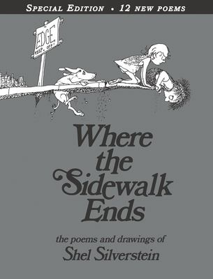 Cover image for Where the sidewalk ends : the poems & drawings of Shel Silverstein.