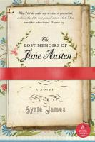 Cover image for The lost memoirs of Jane Austen