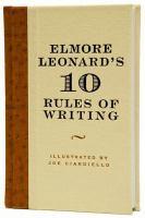 Cover image for Elmore Leonard's 10 rules of writing