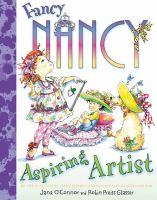 Cover image for Fancy Nancy, aspiring artist