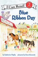 Cover image for Blue ribbon day