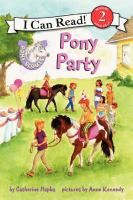 Cover image for Pony party