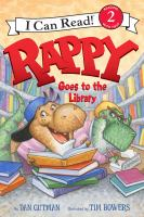 Cover image for Rappy goes to the library
