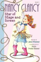 Cover image for Nancy Clancy, star of stage and screen
