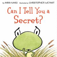 Cover image for Can I tell you a secret?