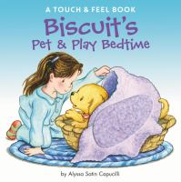 Cover image for Biscuit's pet & play bedtime