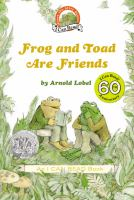 Cover image for Frog and Toad are friends