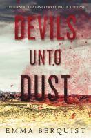 Cover image for Devils unto dust