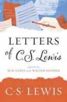 Cover image for Letters of C.S. Lewis