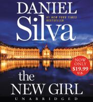 Cover image for The new girl [sound recording (book on CD)] : a novel