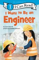Cover image for I want to be an engineer