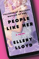 Cover image for People like her : a novel