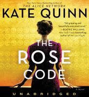 Cover image for The rose code [sound recording (book on CD)]