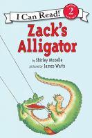 Cover image for Zack's alligator
