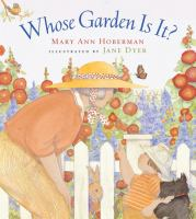 Cover image for Whose garden is it?