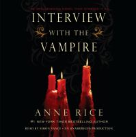 Cover image for Interview with the vampire [sound recording (book on CD)]