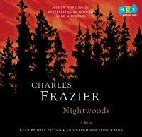 Cover image for Nightwoods [sound recording (book on CD)] : [a novel]