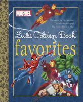 Cover image for Marvel little Golden Book favorites.