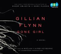 Cover image for Gone girl [sound recording (book on CD)] : a novel
