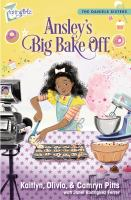 Cover image for Ansley's big bake off