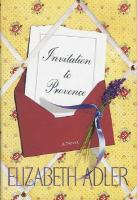 Cover image for Invitation to Provence