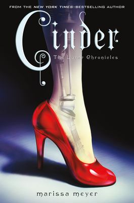 Cover image for Cinder / written by Marissa Meyer.