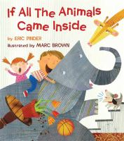 Cover image for If all the animals came inside