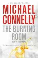 Cover image for The burning room [large type] : a novel