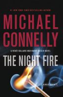 Cover image for The night fire [large print]