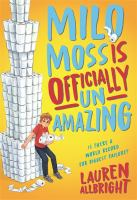 Cover image for Milo Moss is officially un-amazing