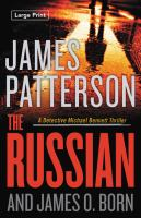 Cover image for The Russian [large type]