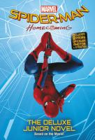 Cover image for Spider-man homecoming : the junior novel