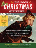 Cover image for The big book of Christmas mysteries