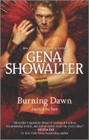 Cover image for Burning dawn