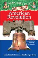 Cover image for American revolution : a nonfiction companion to Revolutionary War on Wednesday