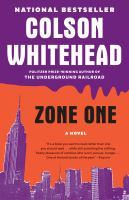 Cover image for Zone one : a novel