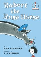 Cover image for Robert the rose horse