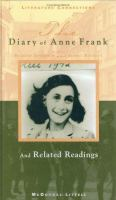 Cover image for The diary of Anne Frank : and related readings