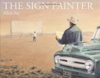 Cover image for The sign painter
