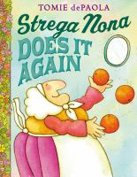 Cover image for Strega Nona does it again