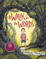 Cover image for A walk in the words