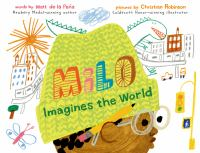 Cover image for Milo imagines the world