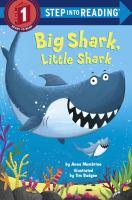 Cover image for Big Shark, Little Shark