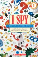 Cover image for I spy : 4 picture riddle books