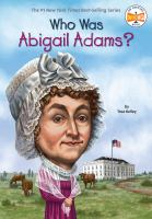 Cover image for Who was Abigail Adams?
