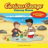Cover image for Curious George chasing waves