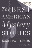 Cover image for Best American mystery stories 2015