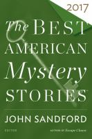 Cover image for The best American mystery stories 2017