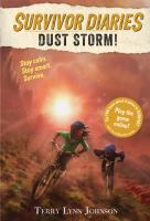 Cover image for Dust storm!